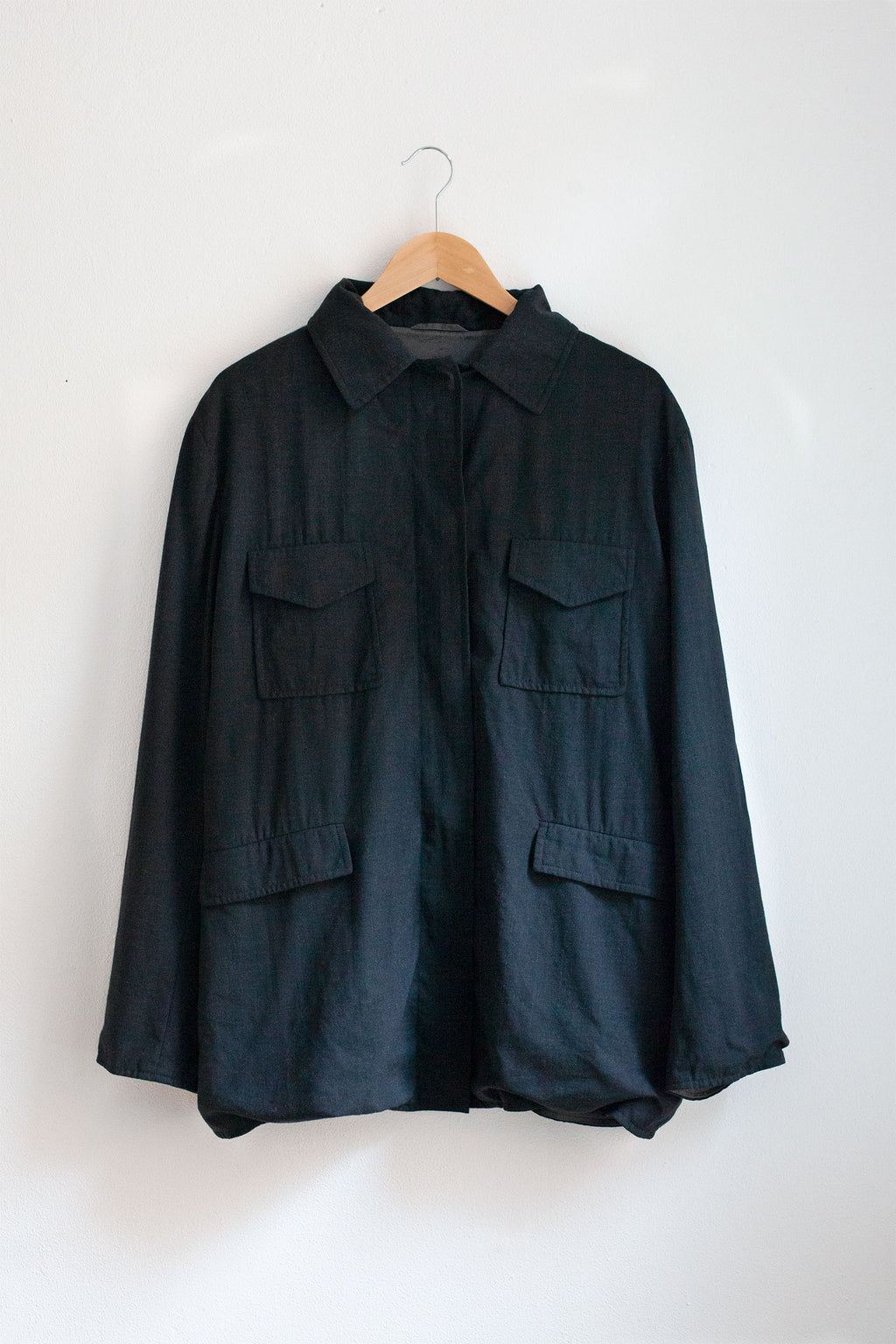 Jil Sander Dark Grey Workers Jacket