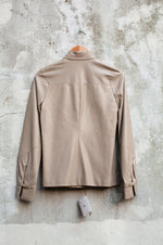 Load image into Gallery viewer, Loewe Ecru Leather Shirt