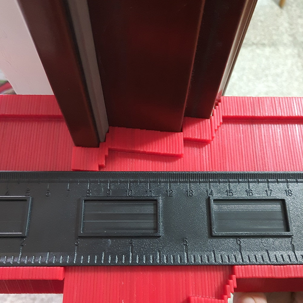 Tiling Template Measuring Tool