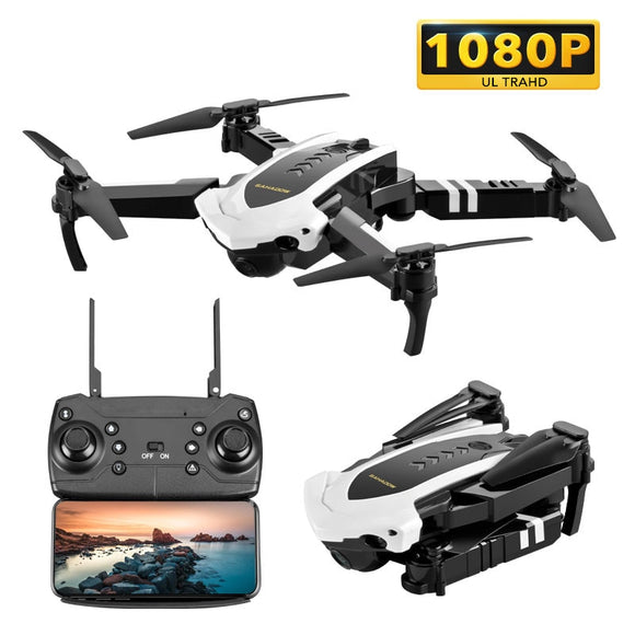 XYCQ S7 Quadcopter Drone with Camera Live Video,  WiFi FPV Quadcopter with 110° Wide-Angle 1080P HD Camera Foldable Drone RTF