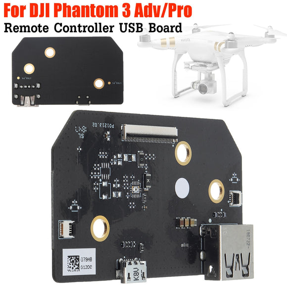 For DJI Phantom 3 Pro Adv drone repair Accessories remote control Circuit Board mother board Parts