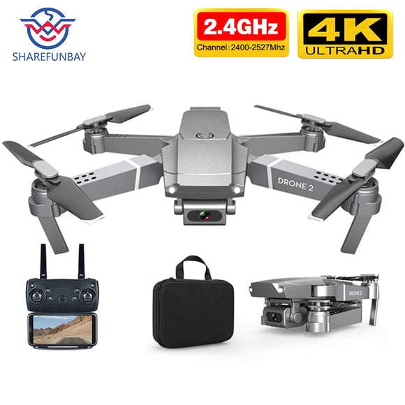 E68 drone HD wide angle 4K WIFI 1080P FPV drone video live recording Quadcopter height to maintain drone cameraVS e58 drone