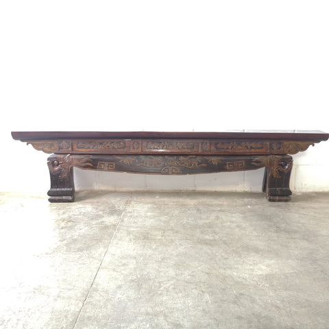 Long low chinese Bench