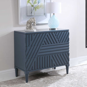 Sion Drawer Chest, Blue