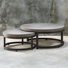 Load image into Gallery viewer, Angelo Nesting Coffee Table - Set of 2