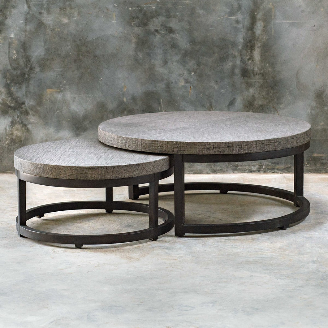 Angelo Nesting Coffee Table - Set of 2