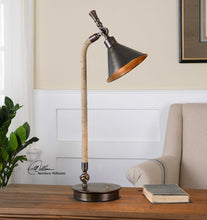 Load image into Gallery viewer, Bronze Rope Lamp