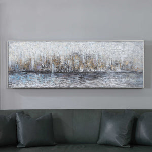Reflect Hand Painted Canvas