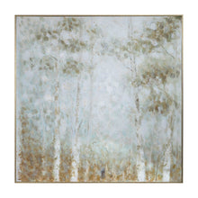 Load image into Gallery viewer, Mint Forest Hand Painted Canvas
