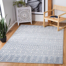 Load image into Gallery viewer, Ivory & Navy Belmont Rug