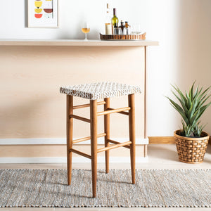 Fendi Woven Leather Barstool
