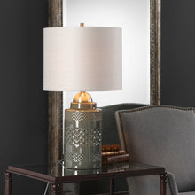 Load image into Gallery viewer, Mushroom Gray Table Lamp