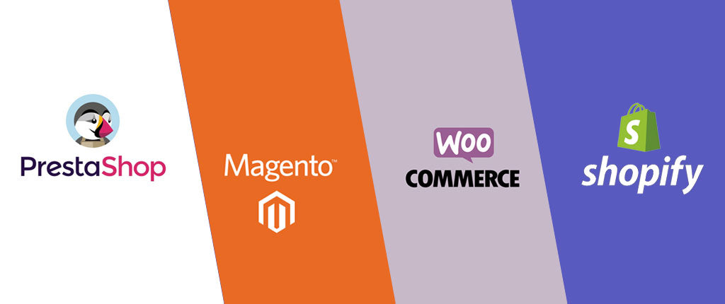 Prestashop vs Shopify vs Magento vs WooCommerce : quelle plateforme e-commerce choisir ?