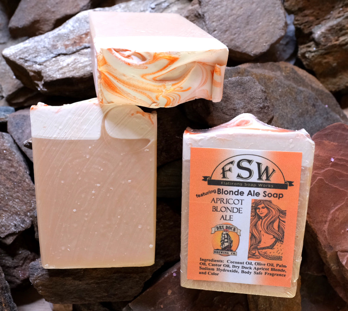Apricot Blonde Ale 🍺 Soap