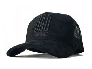Black on Black Trucker - BAD COUTURE
