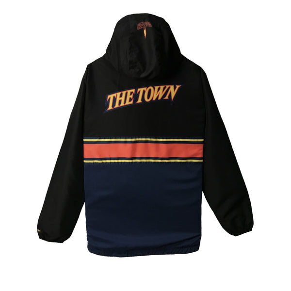 THE TOWN ANORAK (BLACK)