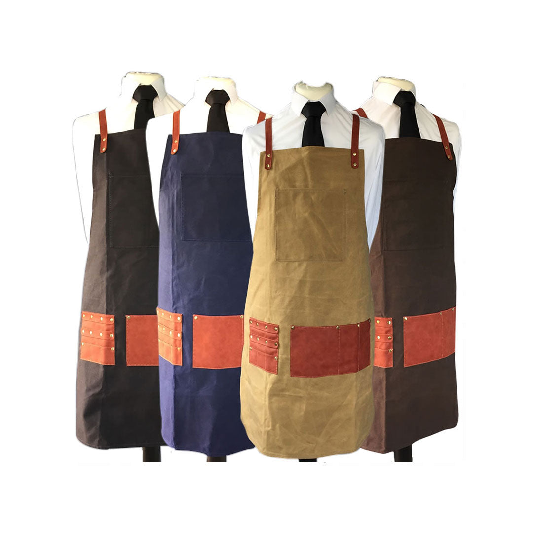 BARBERPRO Styling Apron (Chocolate Brown) (3 colours available)