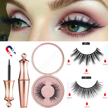 Load image into Gallery viewer, Magnetic False Eyelashes Waterproof Magnetic Eyeliner