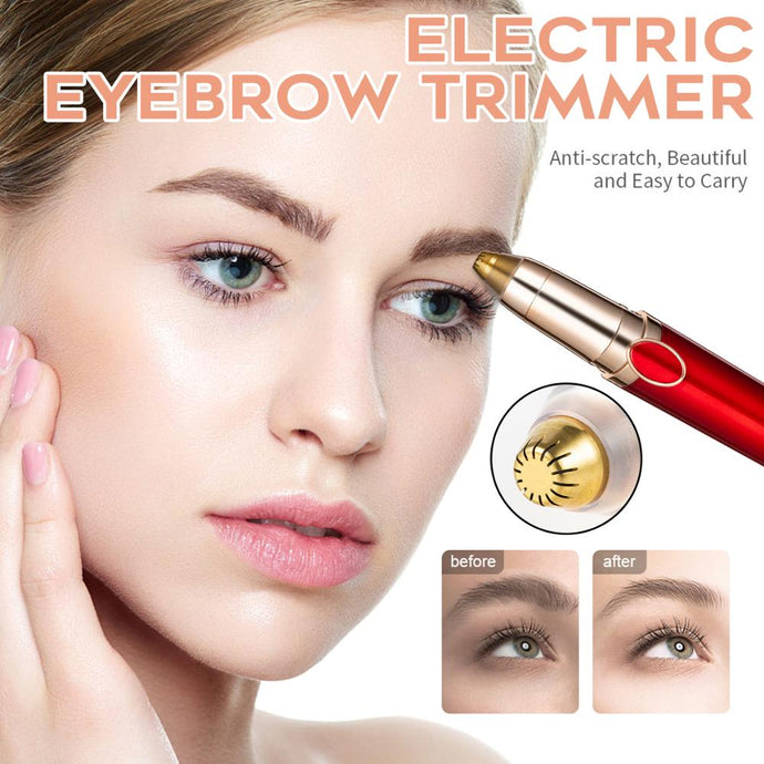 Electric Eyebrow Trimmer Brows Pen Hair Remover (Painless)