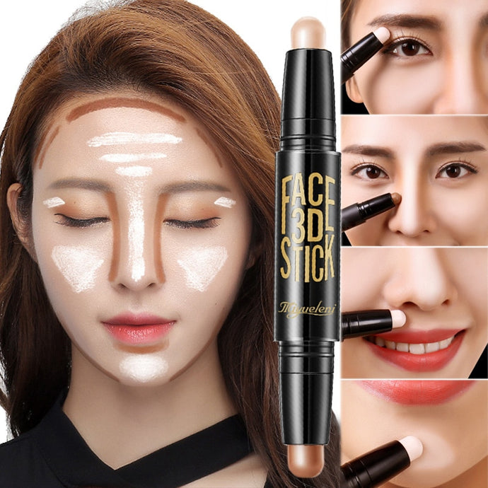 Facial Highlight Foundation Base Contour Stick Beauty Make Up
