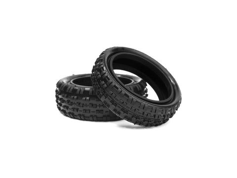Hotrace 1/10 Carpet / Astro - Front 2WD- Pair - Tyre Only