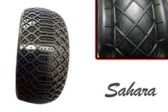 Hot Race - 1/8 Competition Tyres Pair - Sahara