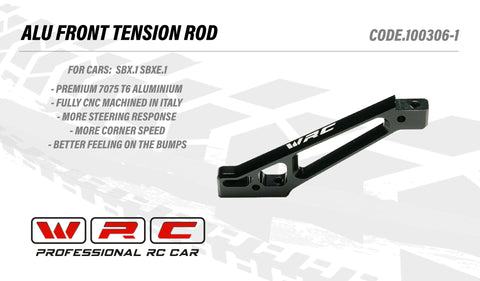 WRC SBX.1  ALU FRONT TENSION ROD 100306-1