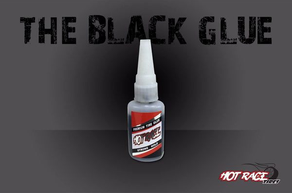 HOTRACE Black Tyre Glue