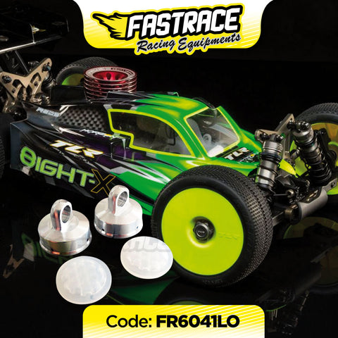 "FR6041LO FastRace ""4Hole"" shock absorber cap with HoneyComb LOSI X membranes (2 + 2)"