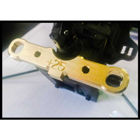 FR552-AS Fast Race RF Rear Lower Suspension Arm Mount (C) +25 gr.