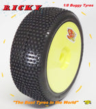 SP Racing - 'Ricky' tyre - Pre Mounted - Pair