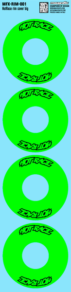 Maugrafix - Decals for Hotrace Carbon Rims - Green - Small - Set of 4
