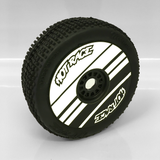 Maugrafix - Decals for Hotrace Carbon Rims - White- Stripe - Set of 4