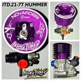 Ielasi Tuned Hummer 7TV2 - 7 port Competition Buggy Engine.