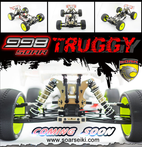 Soar Seiki 998 TD1 2017 Competition Nitro Truggy Kit