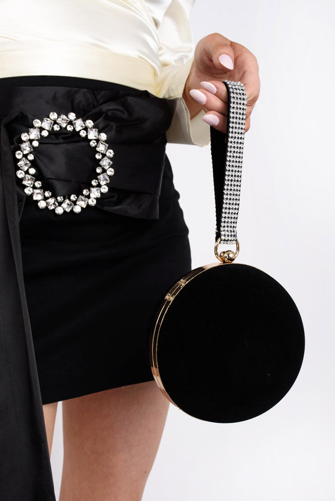 Spherical Clutch Bag