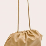 Ruched Detail Crossbody Bag