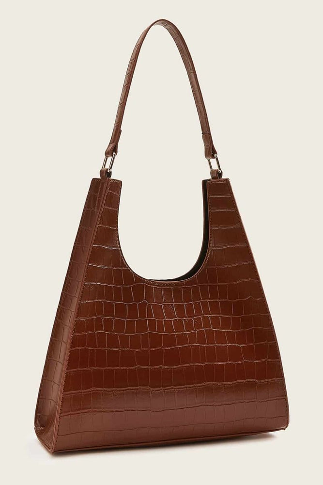 Croc Embossed Tote Bag