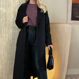 Susie Overcoat - Black
