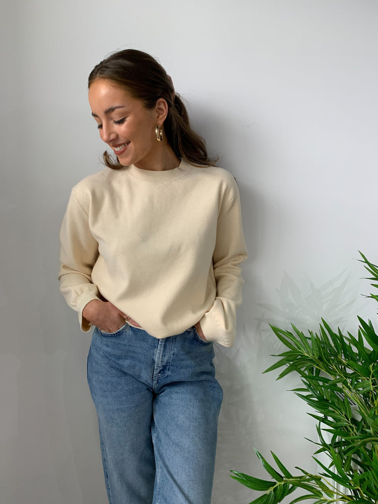 Bonnie Cream Jumper