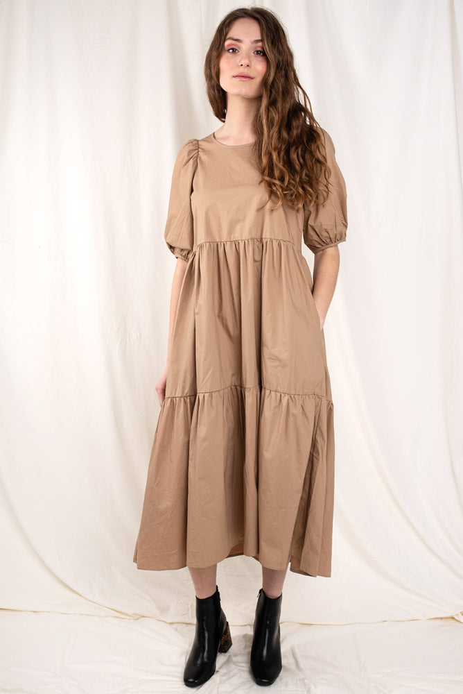 Torey Tiered Midi Dress