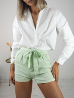 Hailey High-Waisted Shorts