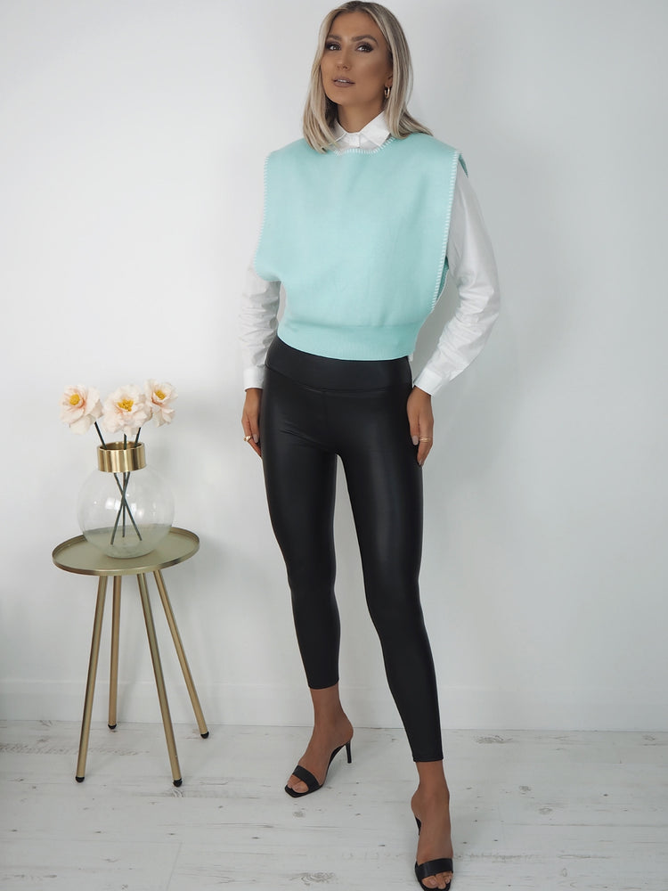 Sara Jumper Shirt - Mint