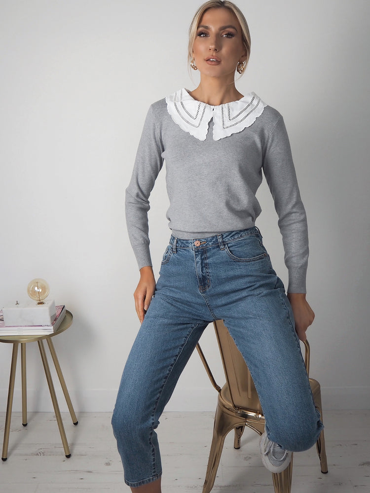 Donna All-In-One Jumper - Grey