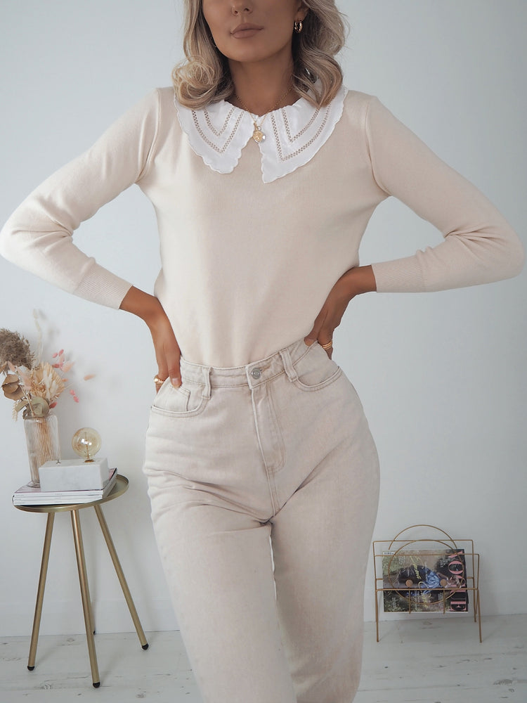 Donna All-In-One Jumper - Beige