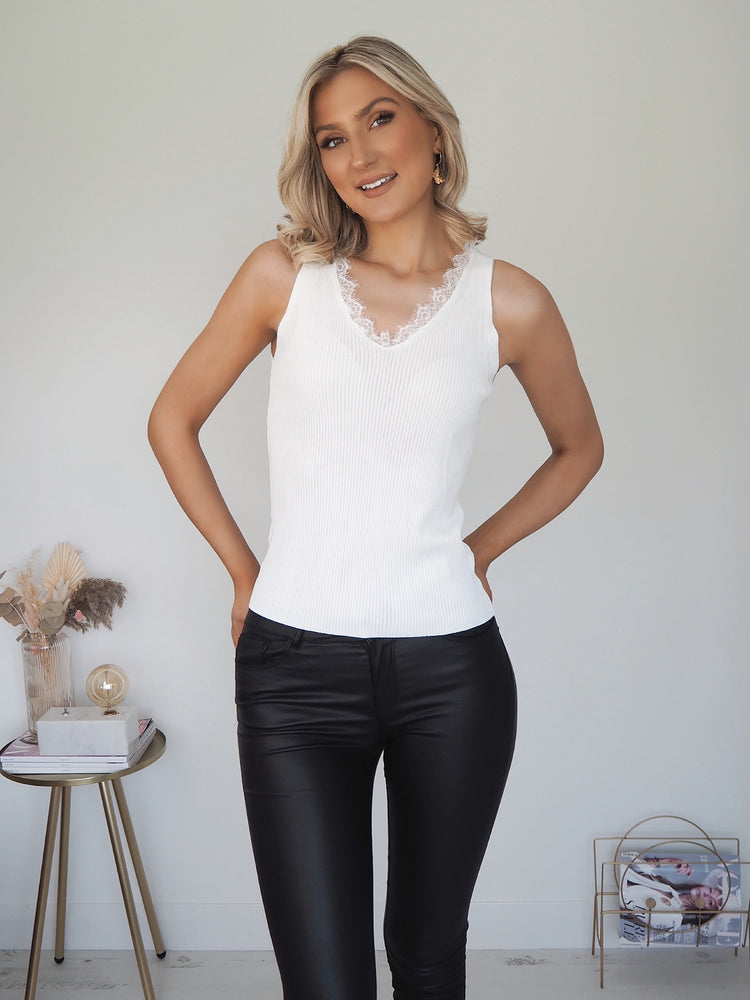 Nancy White Top