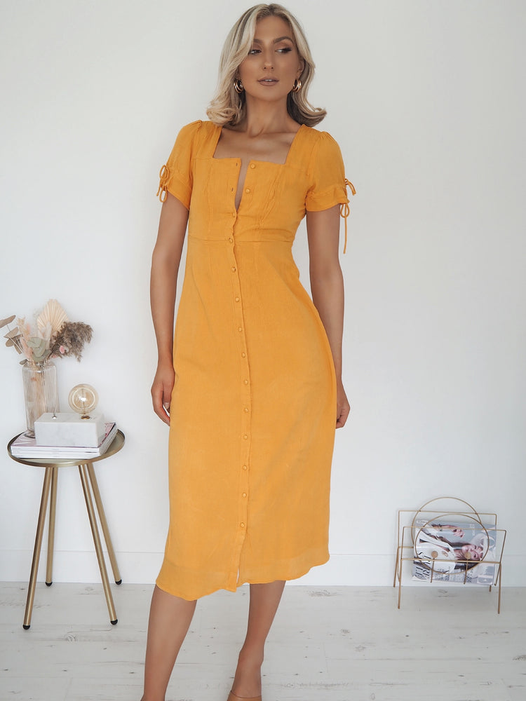 June Yellow Dress