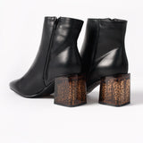 Boots with Tortoise Heel