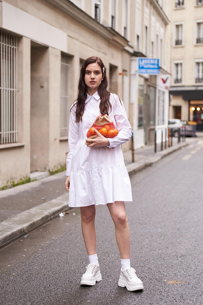 Daisy Tiered Shirt Dress