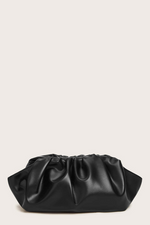 Ruched Detail Crossbody Clutch